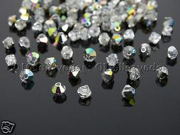 100Pcs Top Quality Czech Crystal Bicone Beads Exclusive 3mm