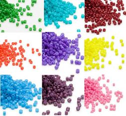 1200 Miyuki Delica #11 Glass Seed Beads 11/0 Lots of Opaque