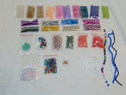 20,000 Beads Seed Crystal Alphabet Starfish Buttons Gems Jew