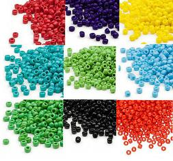200 Matsuno 6/0 Glass Seed Beads Opaque Colors Shiny Or Fros