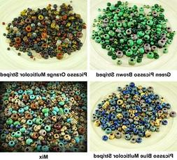 Anissa Exclusive Picasso Mix Czech Glass Seed Beads Rustic M