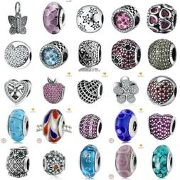 authentic 925 sterling silver charms european glass