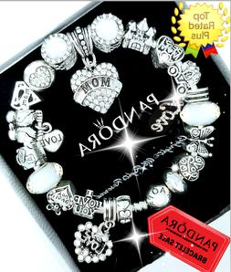authentic bracelet silver bangle with love wife