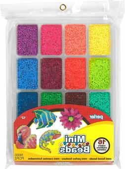 Perler® Beads Color Mini Beads Tray For Kids Crafts