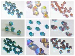 Swarovski bicone Austrian crystal beads faceted  Choose 3mm