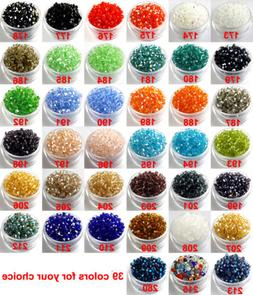 DIY Wholesale 3mm,4mm Glass Crystal #5301 Bicone beads 39 co
