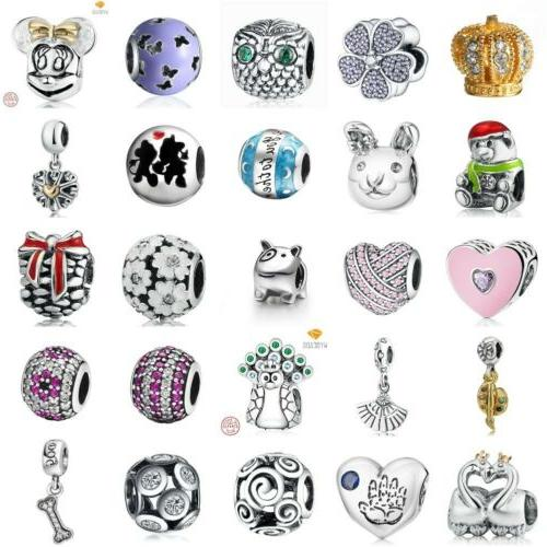 authentic xmas 925 sterling silver charms european