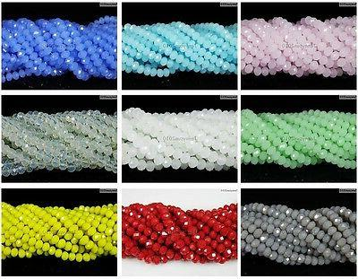 Czech Crystal 3mm Faceted Beads For Bracelet Necklace Craft