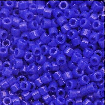 delica seed beads size 11 0 cyan