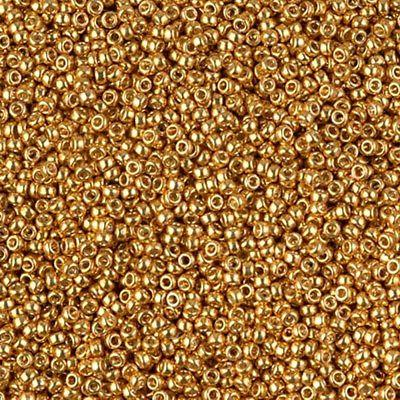 Duracoat Galvanized Seed Beads Size 6 Colors