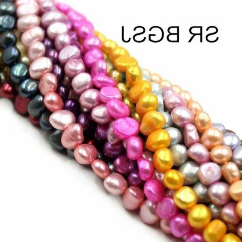 Jewelry Making Natural Freeform Freshwater Pearl Loose Beads