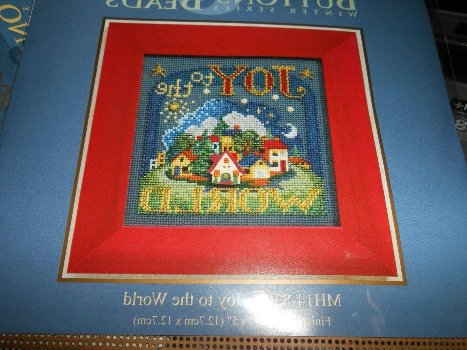 mill hill buttons and beads kit joy