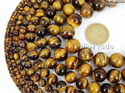 Natural Round 15.5'' 4mm 6mm 14mm