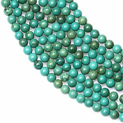 Old Jewelry Making Precious 4mm Round Green#96