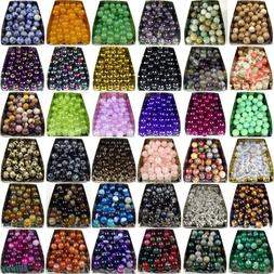 Series I lot natural gemstone spacer loose beads 4mm 6mm 8mm