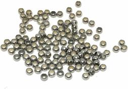 stainless steel spacer crimp bead 2mm wide