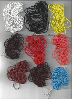 Supernaw's 16/0 Czech Seed Beads- 29 Colors available