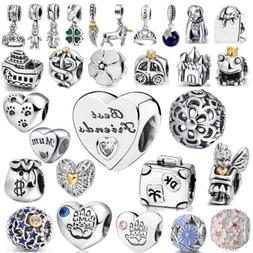 Wholesale European Minnie Beads Silver Charms For 925 Sterli